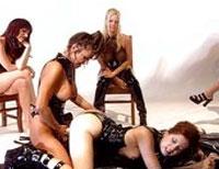 Fetisch Erziehung geiler Strapon Lesben
