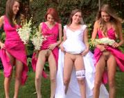 Die versaute Lesben Hochzeit