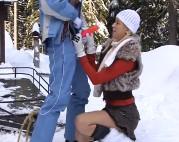 sexy babes gruppe ficken im winter