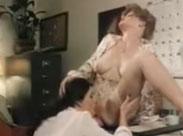 Zwei geile Lesben im alten Vintage Porno